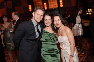 Capturing every smiling face during a corporate event and holiday party
