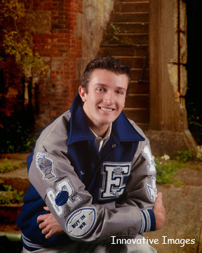 Go Team! Remember the high school glory days with a senior portrait