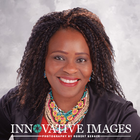 Professional business portrait headshot of a woman