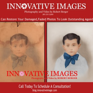 Flood and water damaged photo picture restoration serving Houston, Katy Fort bend Texas. !